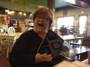 A brand-new iPad!