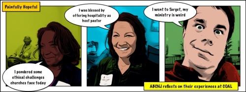 Weird ministry comic