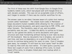 WriteUp iPad