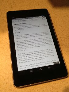 A day with the Nexus 7