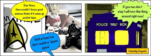 Star Wars vs. Star Trek - The Doctor sighs