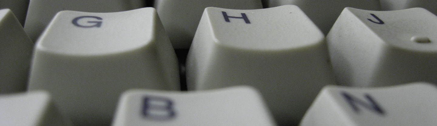 close up of a keyboard