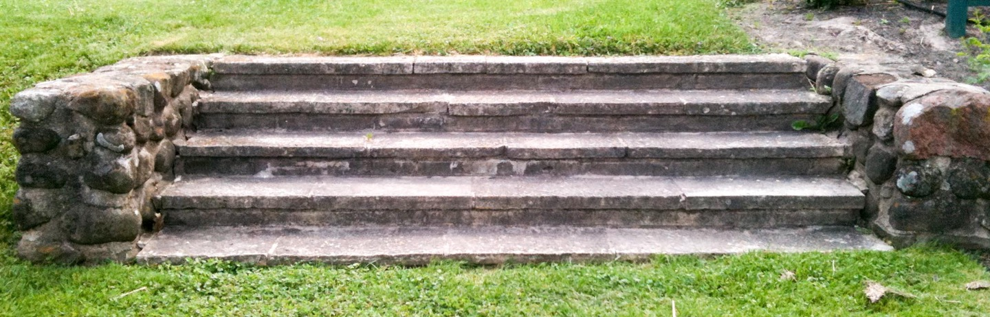 Weathered Steps, at Green Lake Conference center