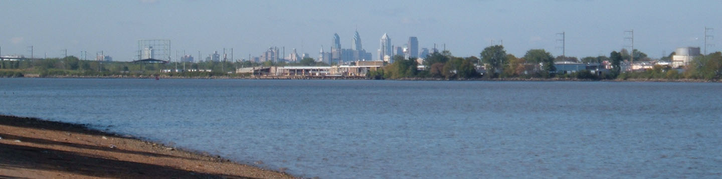 Philly Skyline from the River