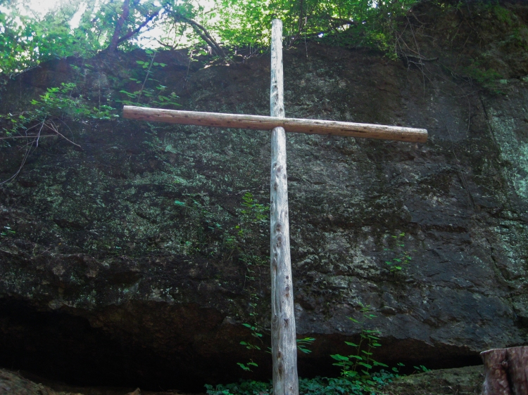 Cross in the Green Cathedral