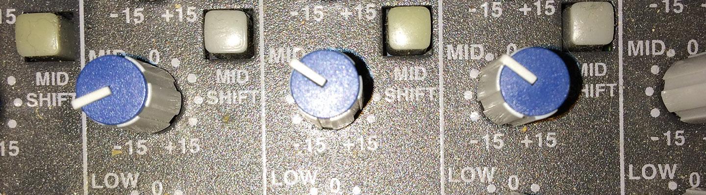 Sound Mixer Levels