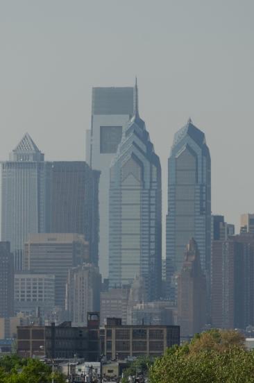 Center City pre-dehaze filter