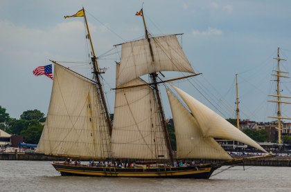 "A ""Baltimore Clipper"" comes to Philadelphia."