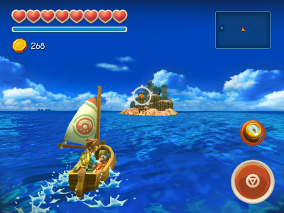 Sailing in Oceanhorn