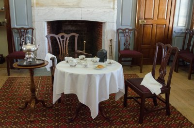 18th Century Tea Setting