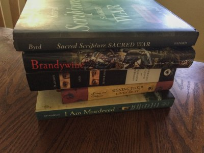 History Book Stack