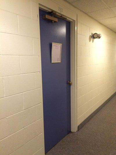 our-first-door