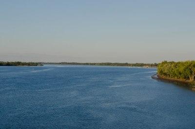 Delaware River from the bridge