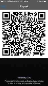 a gps4cam qr code