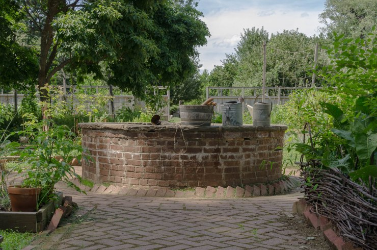 The Cistern at Pennsbury Manor