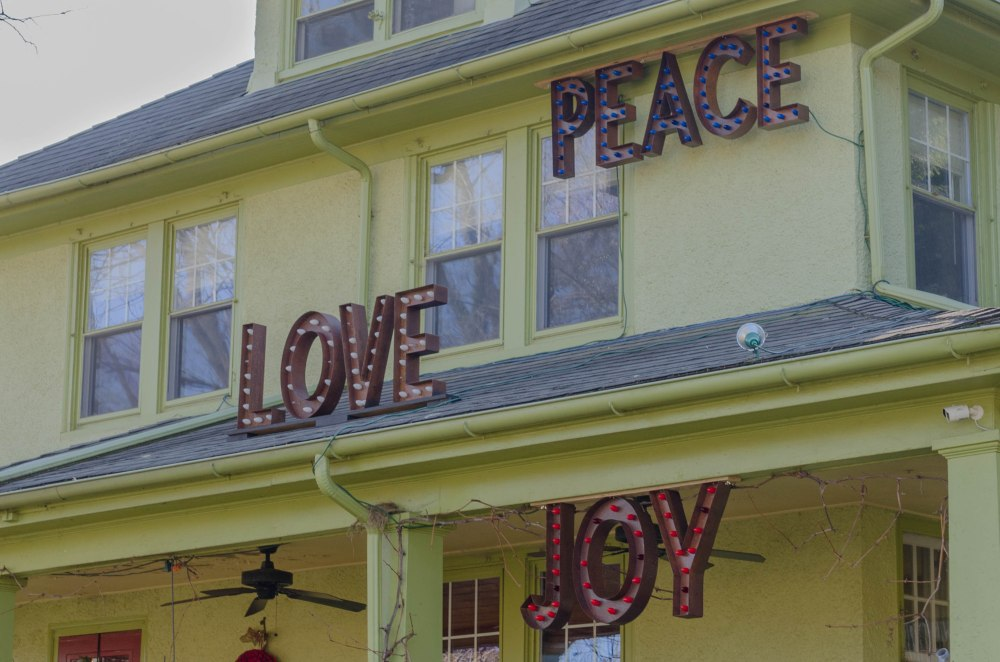 Peace, Love, and Joy -- Where's the Hope?