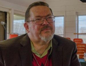 Rev. Vernl Mattson at his retirement party