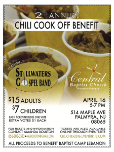 2016 Chili Cook Off Benefit