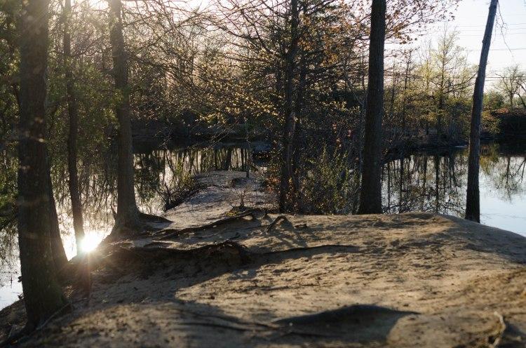 Causeway in Willingboro Lakes Park