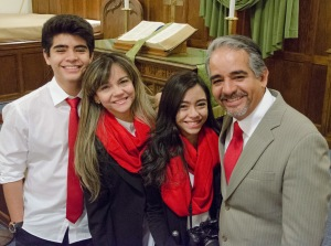 Pastor Ronnie and family