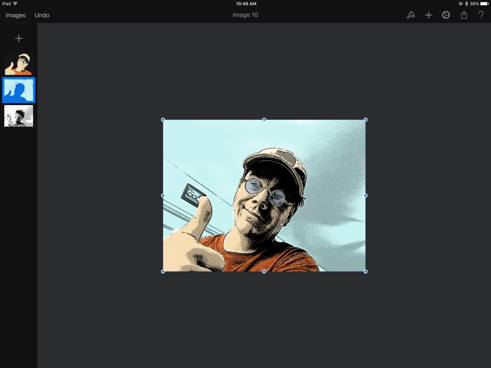 Finished Pixelmator composite