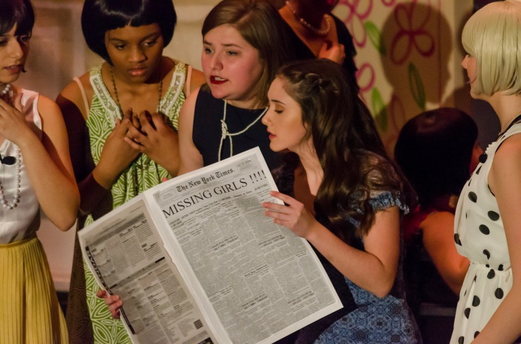 A scene from Thoroughly Modern Millie - revealing the sub-plot