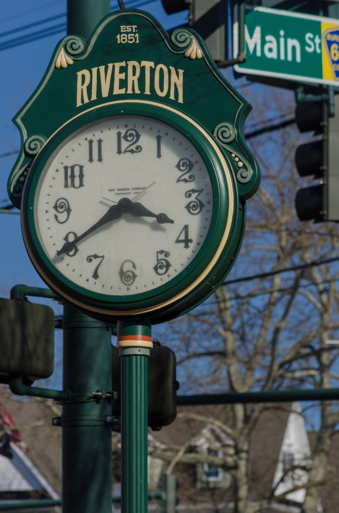 The Clock in Riverton Square