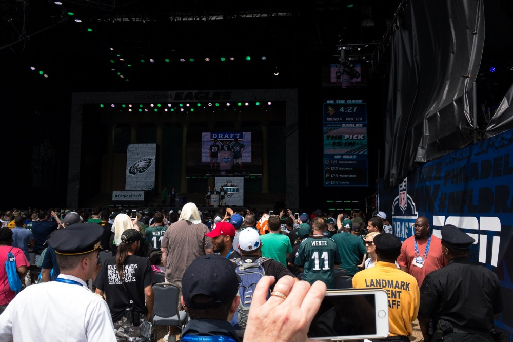 Eagles pick in the fourth round