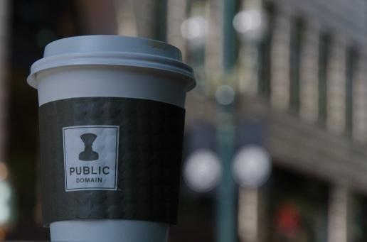 Public Domain Coffee is tasty.