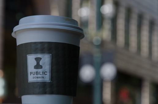 Public Domain Coffee is tasty.