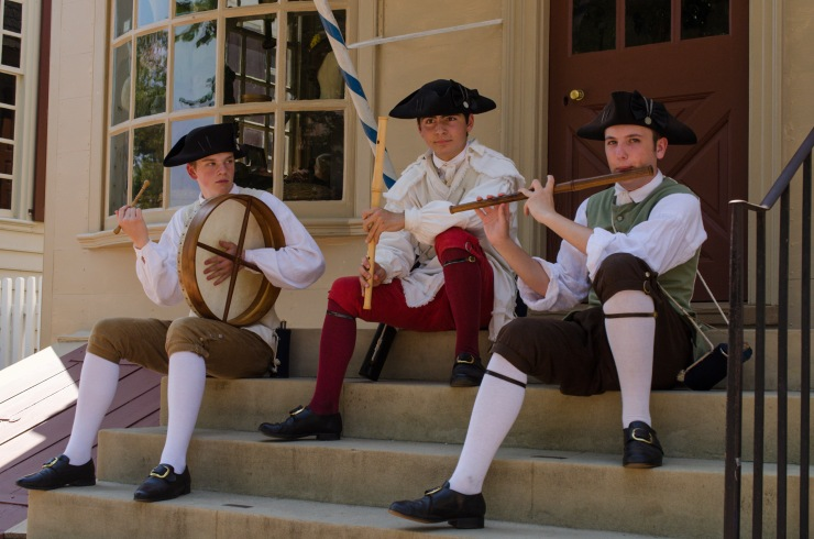 Street Musicians at Colonial Williamsburg