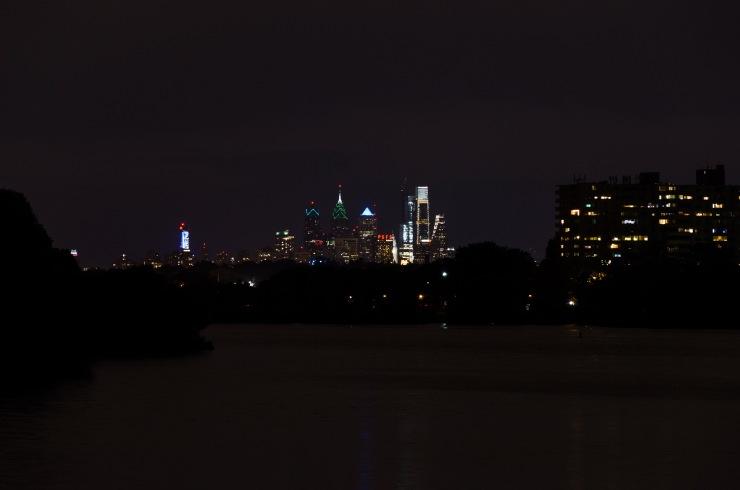 Center City Skyline from Cooper River Park
