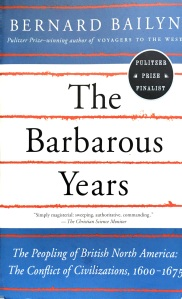 The Barbarous Years Cover