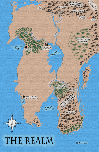 Near-finished map of The Realm