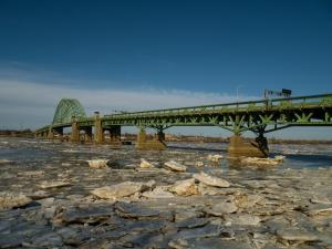 A Ice-In Tacony-Palmyra Bridge