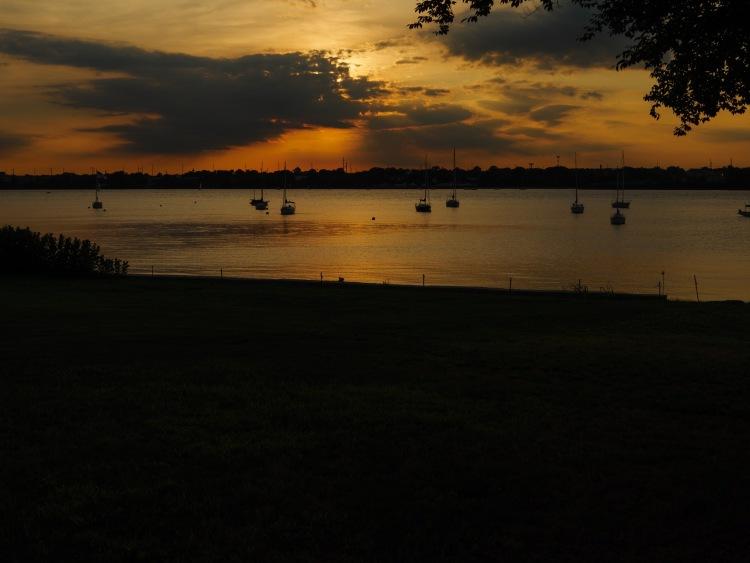 Sunset on the Delaware