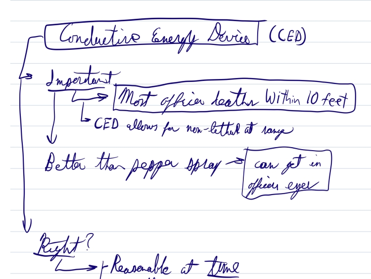 A piece of a notability document.