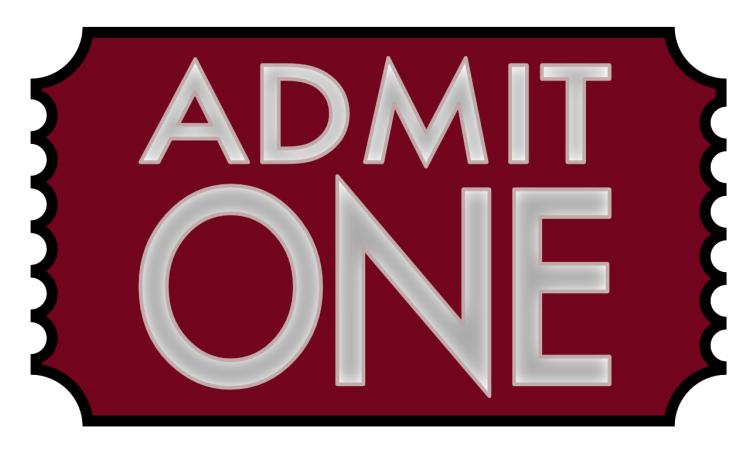 a movie ticket