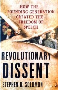 Revolutionary Dissent Cover