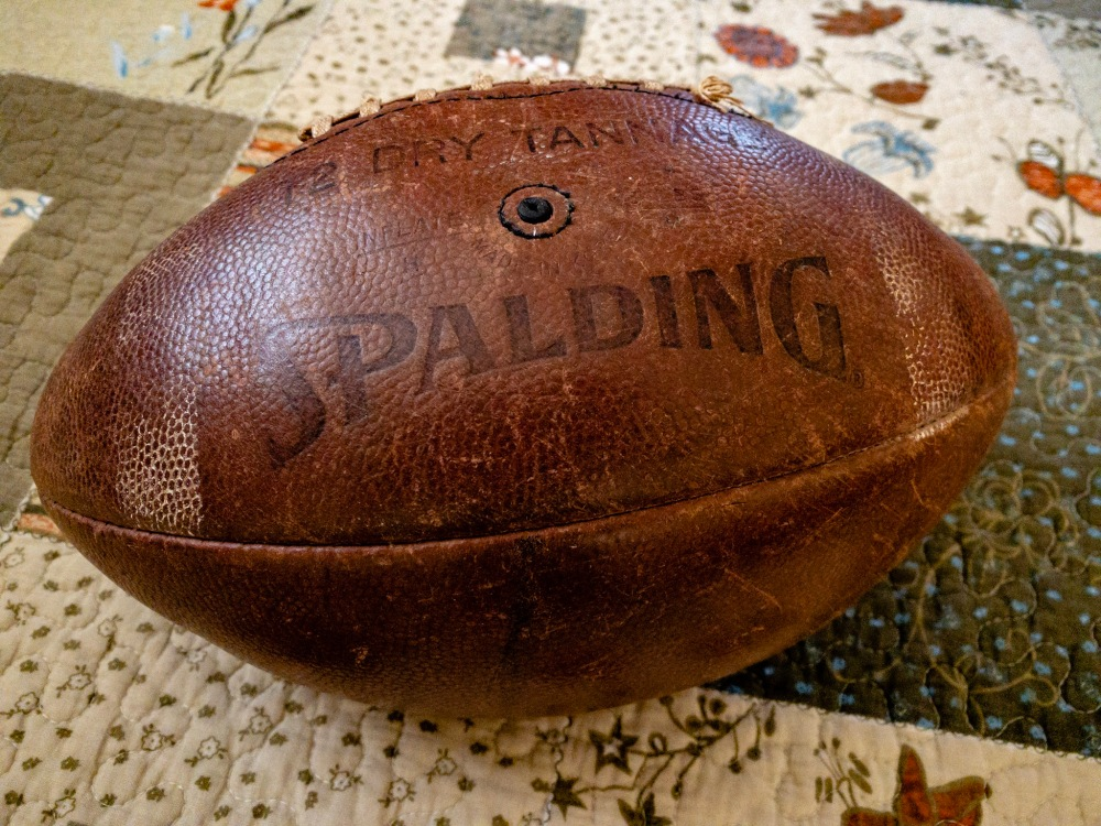 A Spalding Football