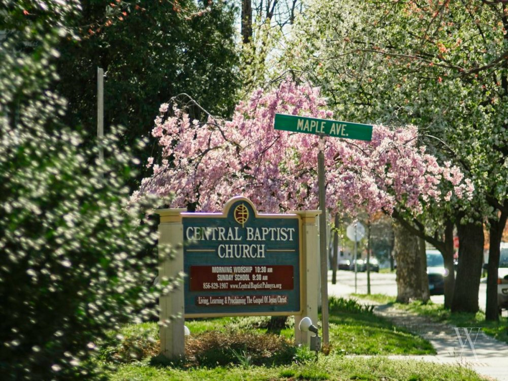 Central Baptist Church Sign
