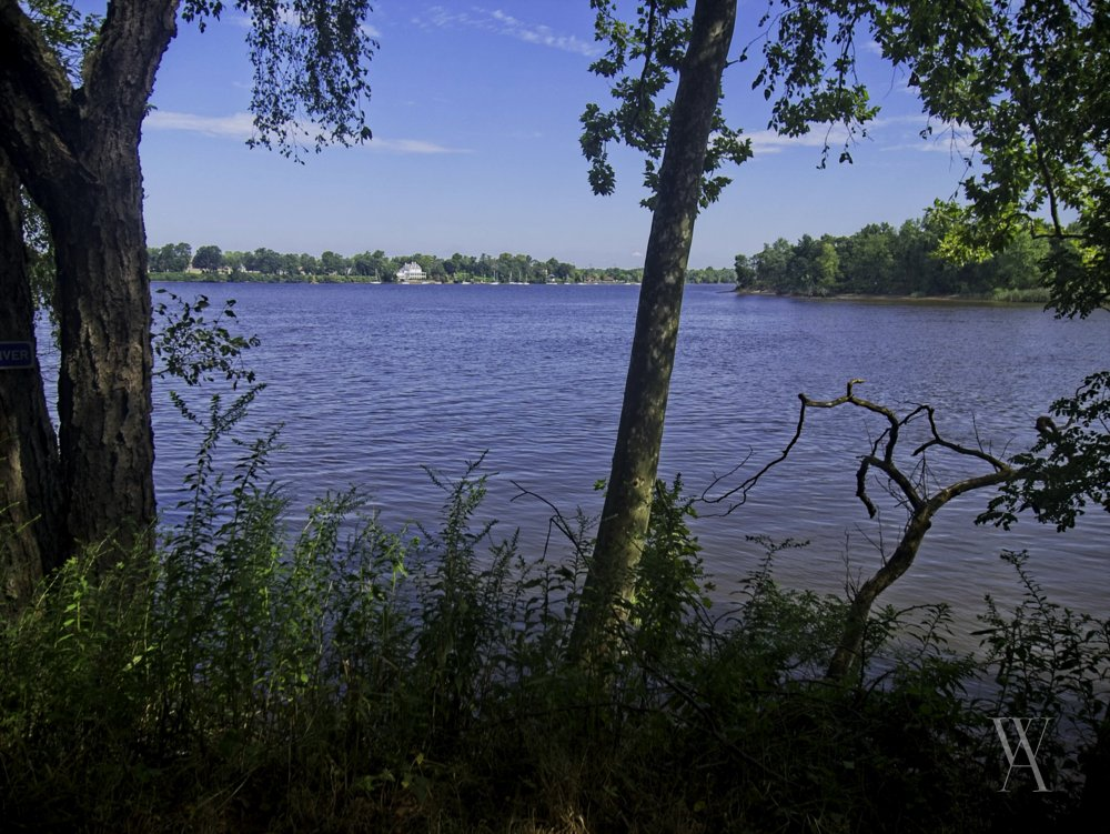 Confluence of the Rancocas Creek and Delaware River