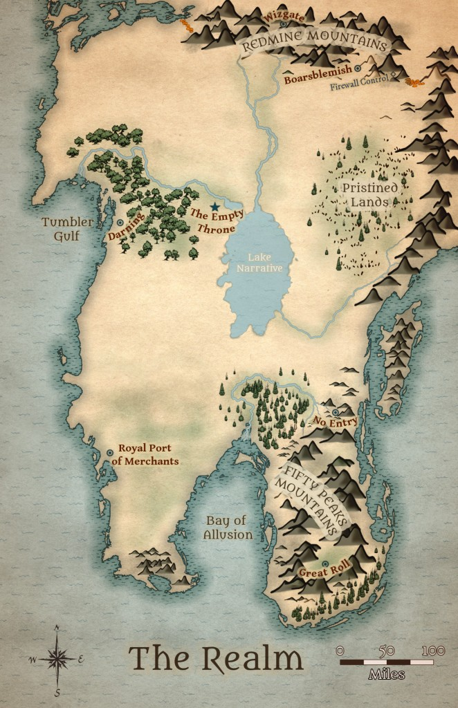 Enhanced map of The Realm