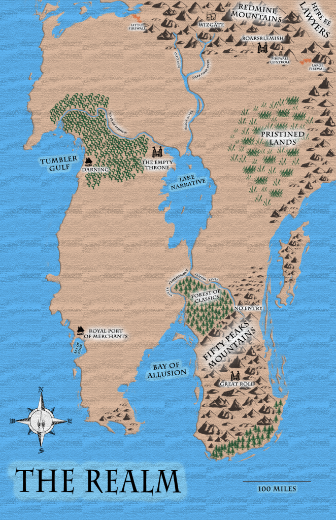 Map of The Realm.
