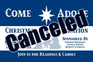 Christmas Eve Outdoor Celebration-Canceled